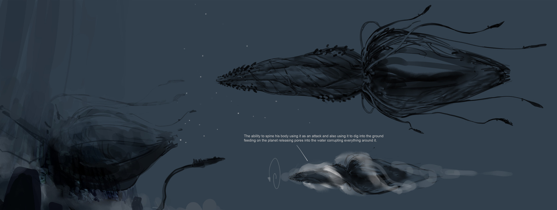 Tyler ryan thedepth creature sketches v06