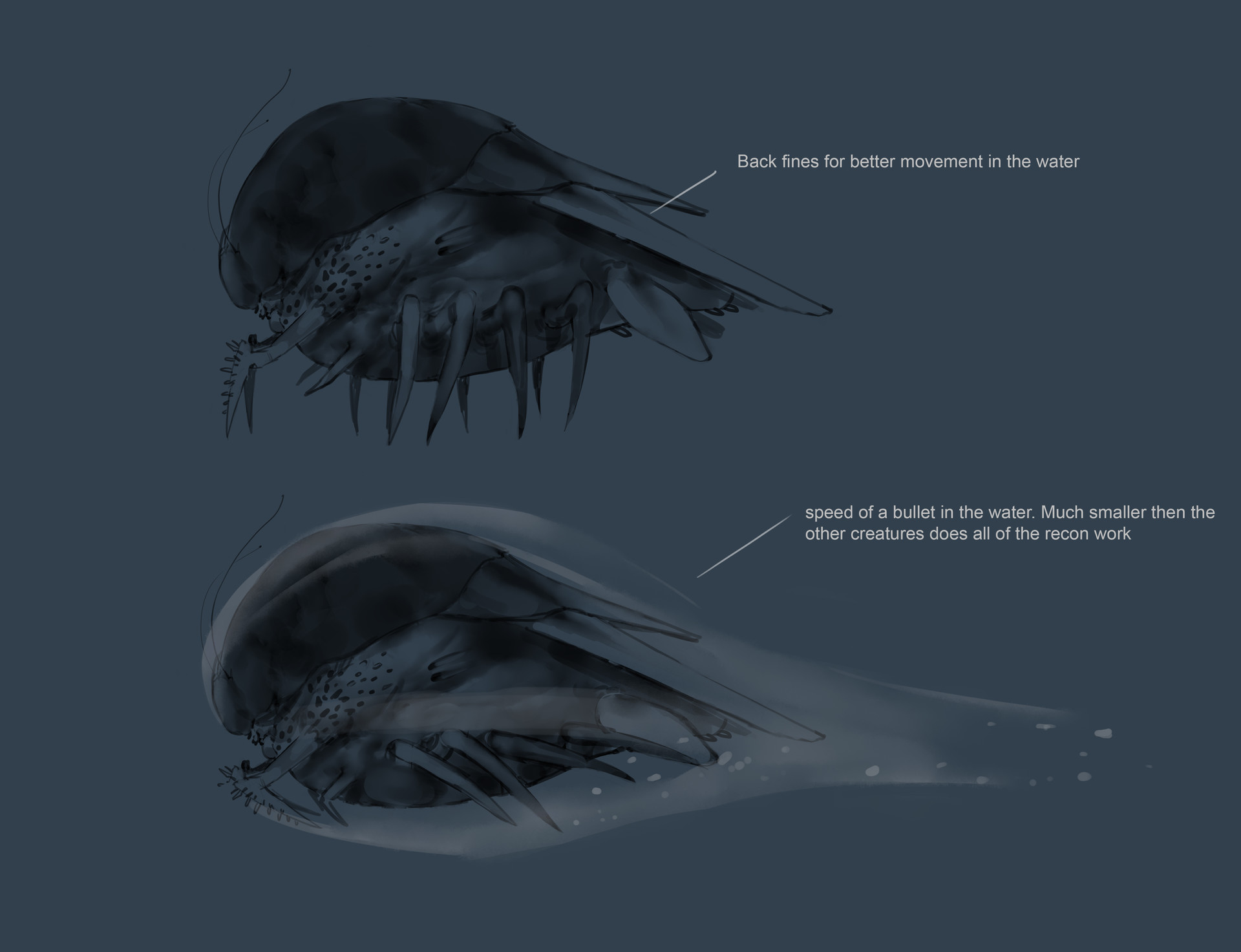 Tyler ryan thedepth creature sketches v0501