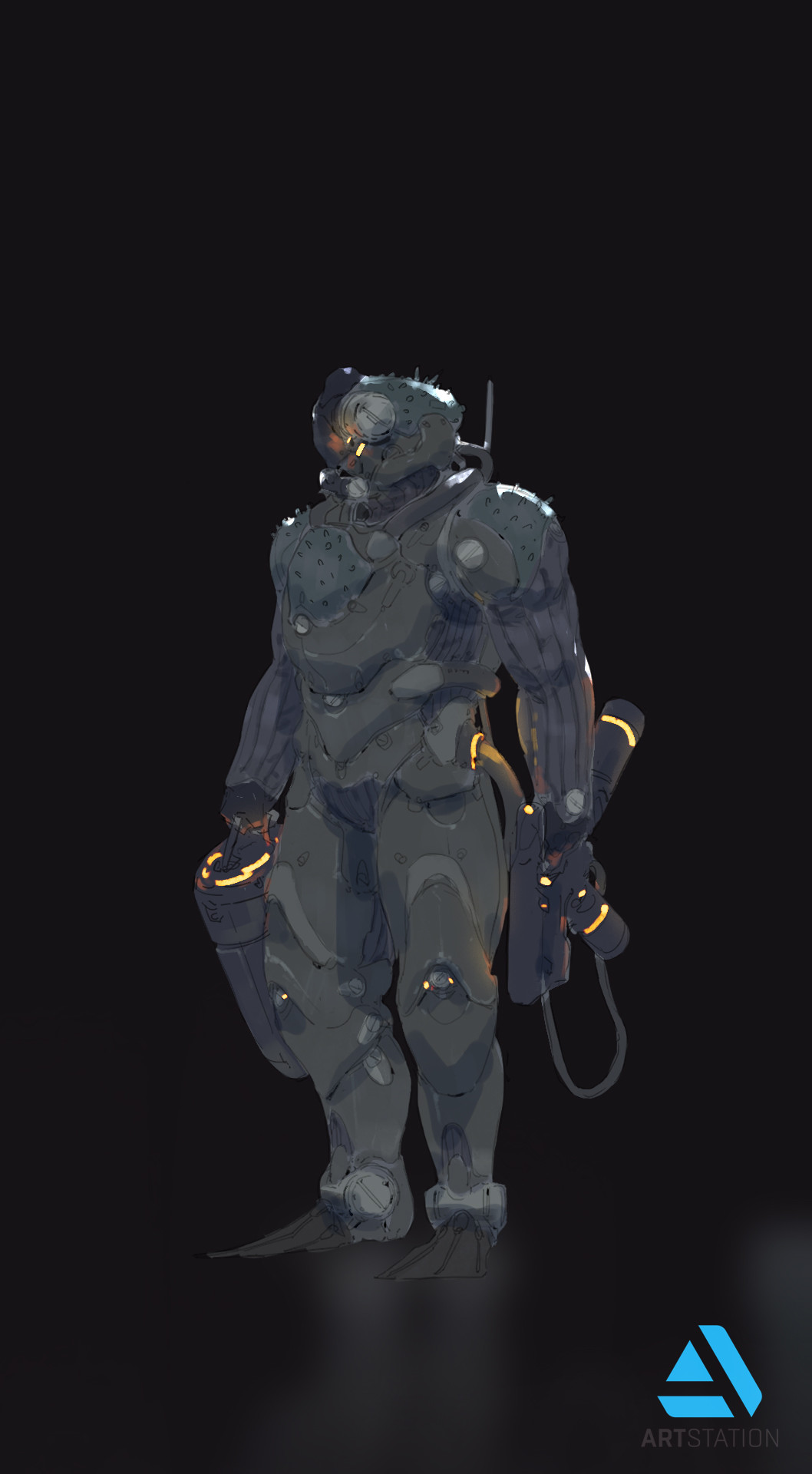 Tyler ryan thedepth humanoid engineer