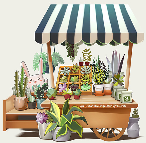 Jia ying ong little location standee succulent stand v2