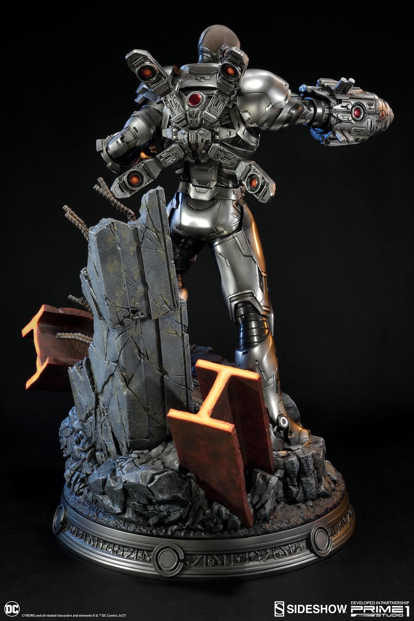Adam fisher prime 1 studio dc cyborg statue 005