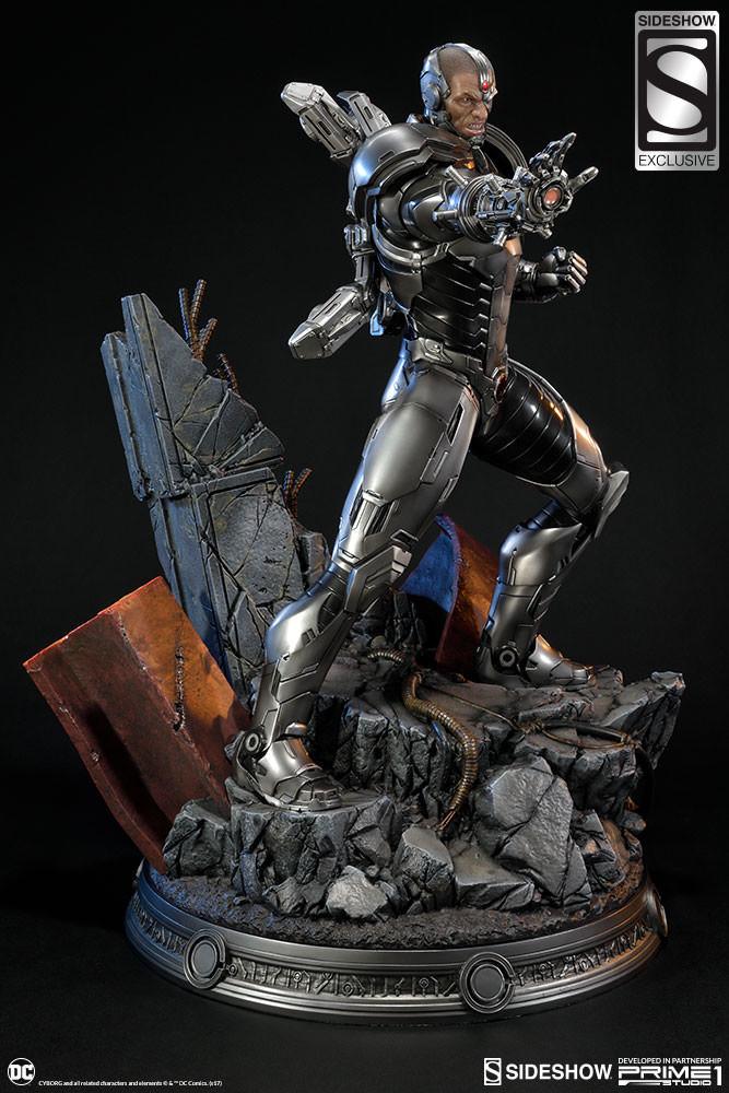 Adam fisher prime 1 studio dc cyborg statue 017