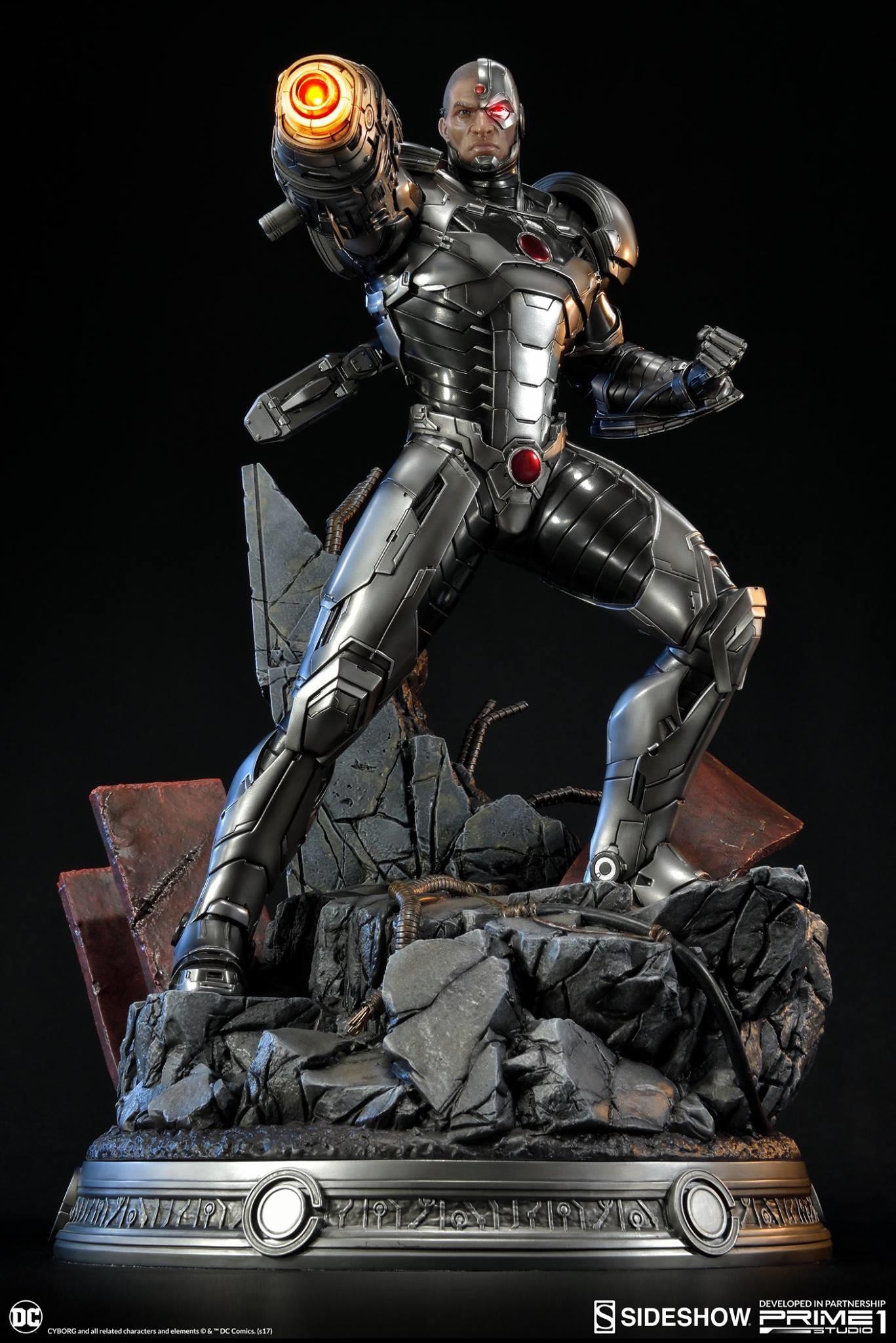 Adam fisher prime 1 studio dc cyborg statue 002