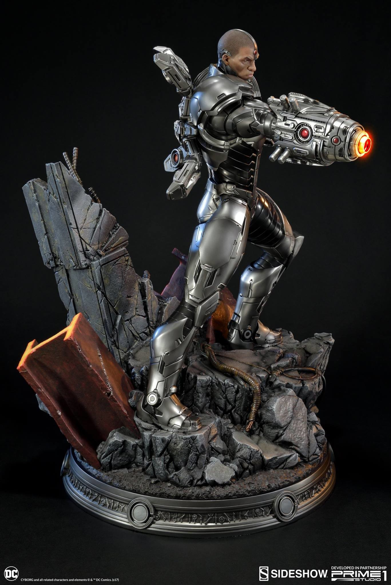 Adam fisher prime 1 studio dc cyborg statue 004