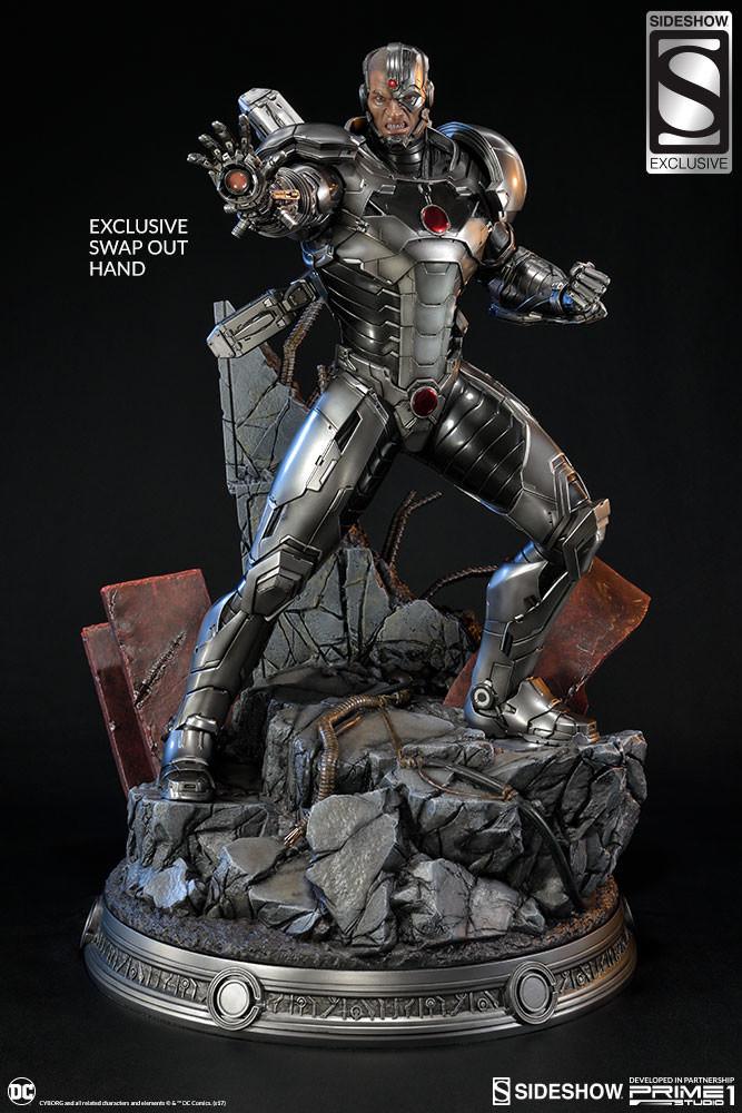 Adam fisher prime 1 studio dc cyborg statue 015