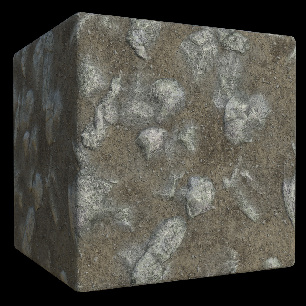 Mixture of Rocky Ground materials that I constructed separately than combined in another graph.