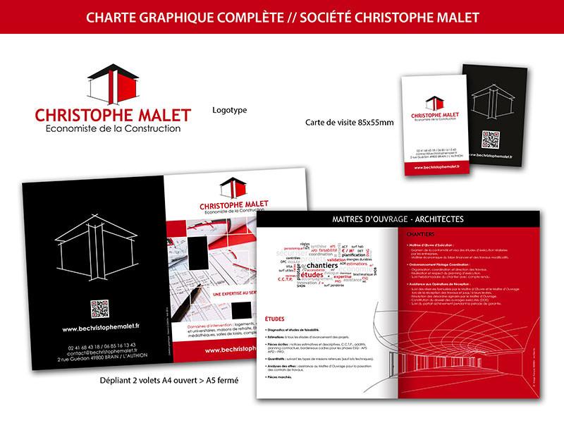 Creation Charte Graphique Complete Logo Carte De Visite Et Depliant Bureau Detude