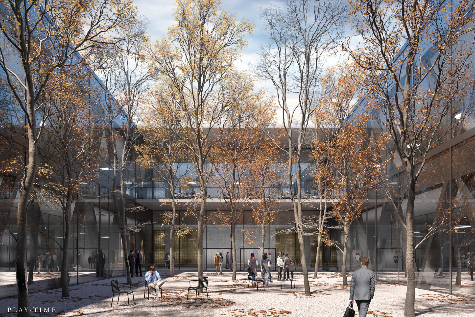 Play time architectonic image iaag architekten bernexpo hall bern 02