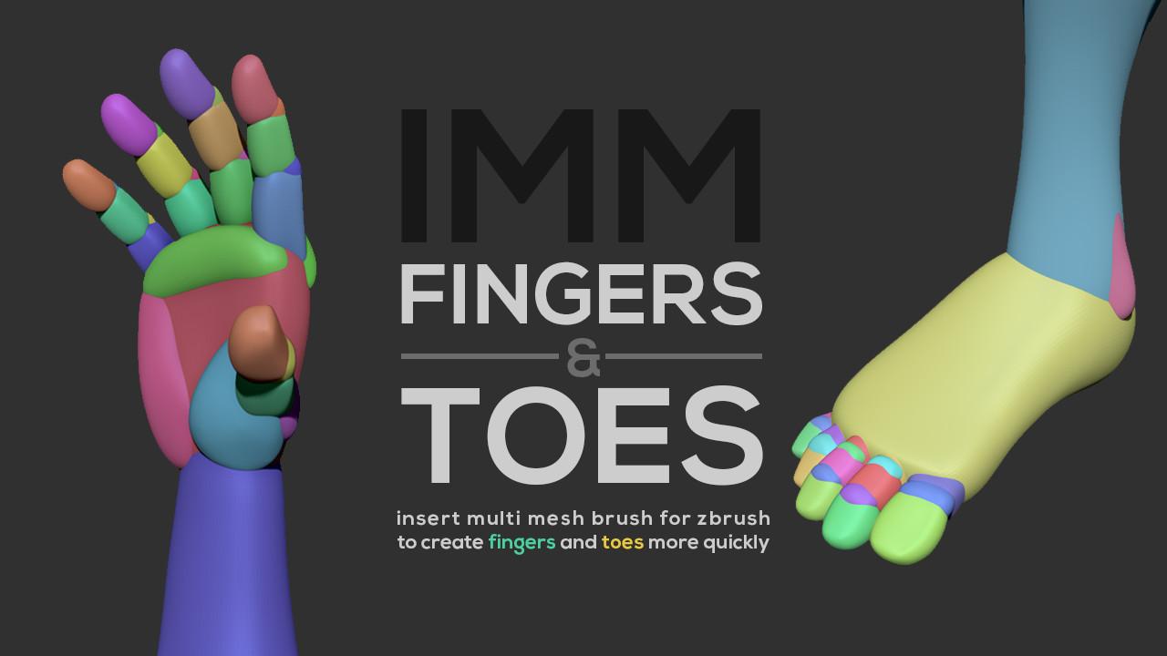 ArtStation , IMM Fingers \u0026 Toes, Joao Sousa