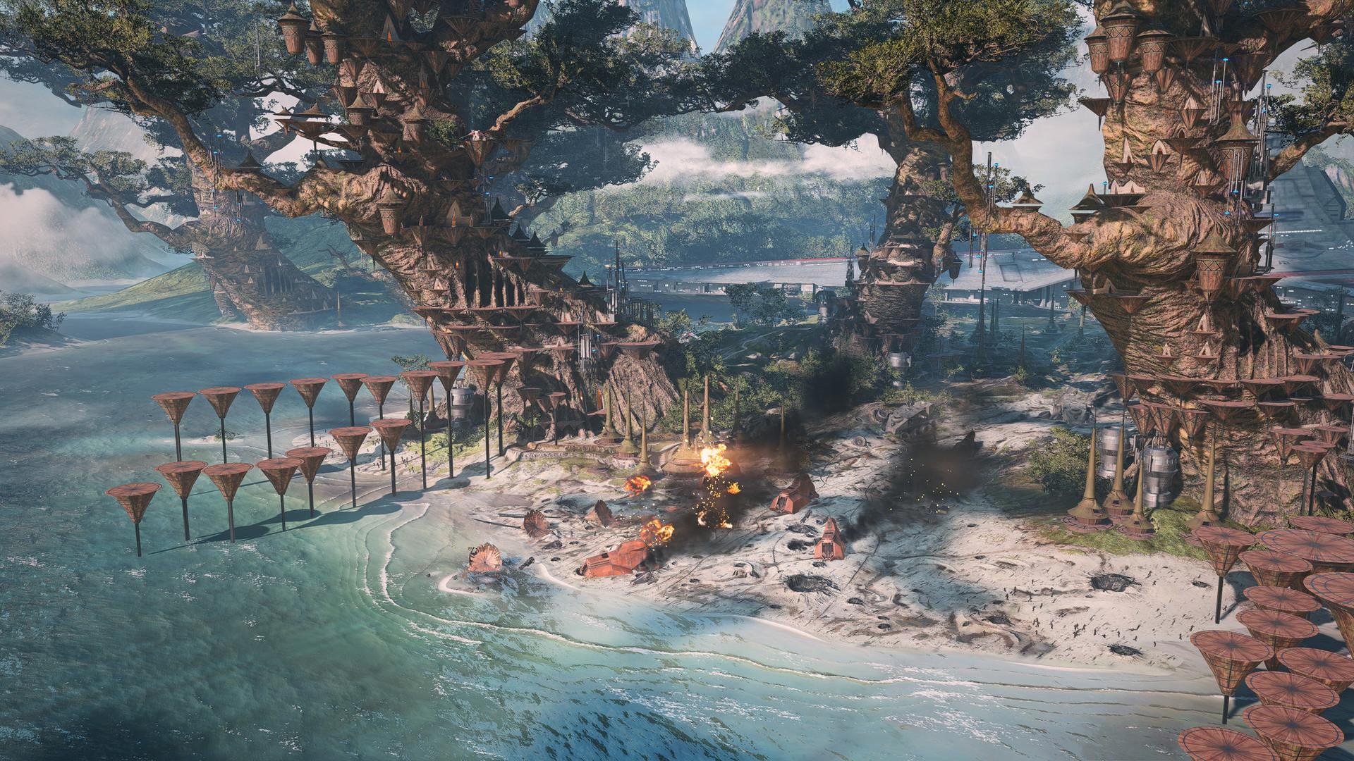 Artstation Star Wars Battlefront 2 Kashyyyk Tilmann Milde