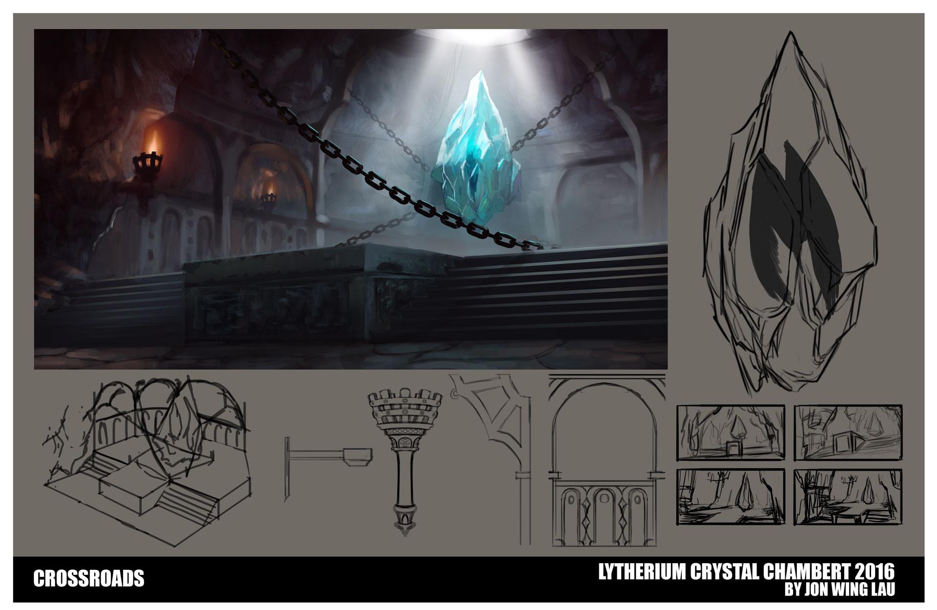 Jon wing crystal chamber