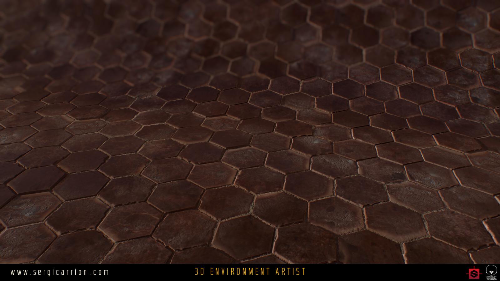 Dunwall Cobblestone Dirt/Aged Variation