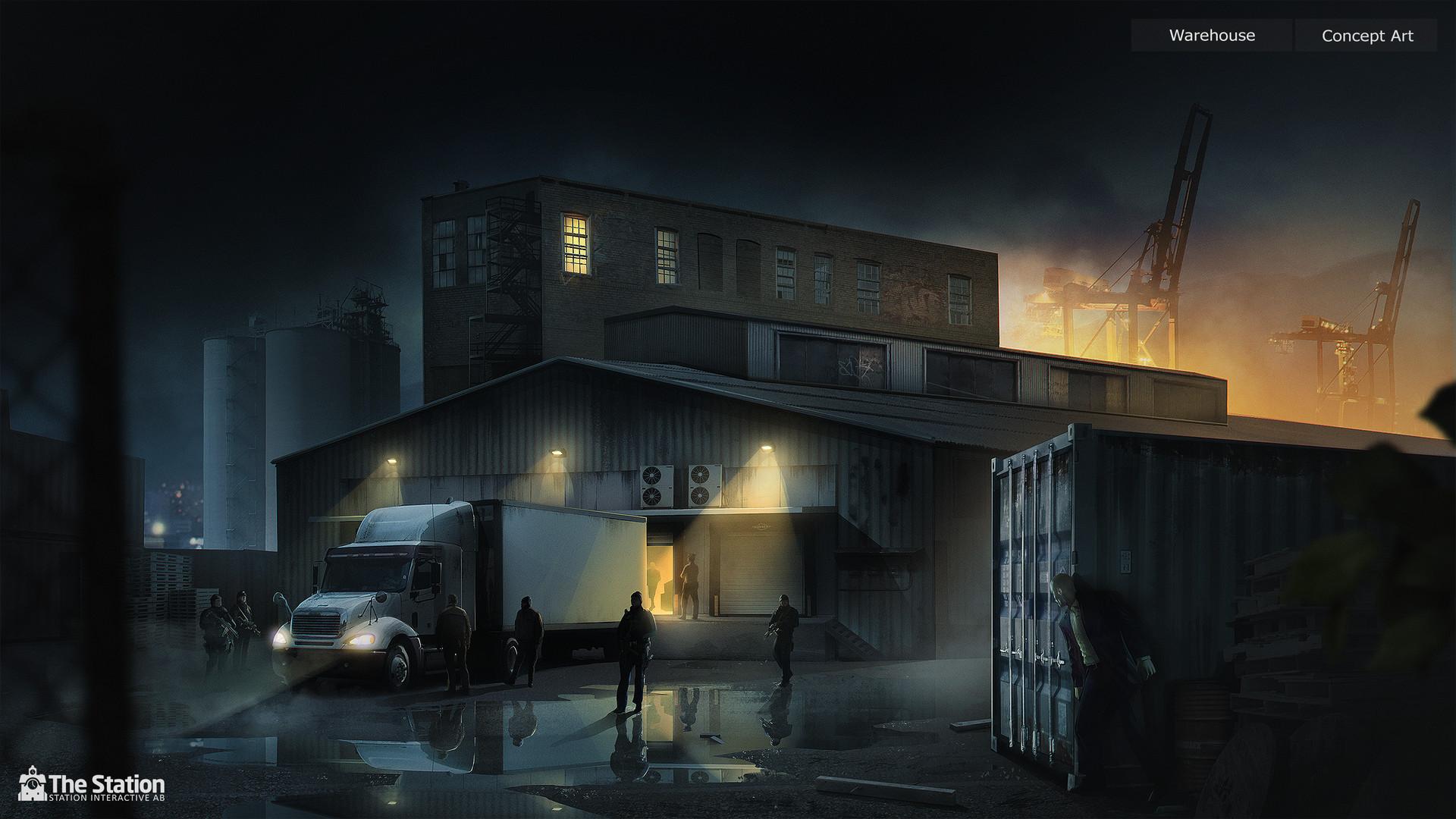 « Une histoire de famille » ft. W.R Wintergreen Station-interactive-warehouse