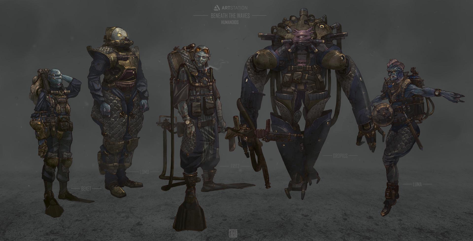 Tano bonfanti line up test humanoids final