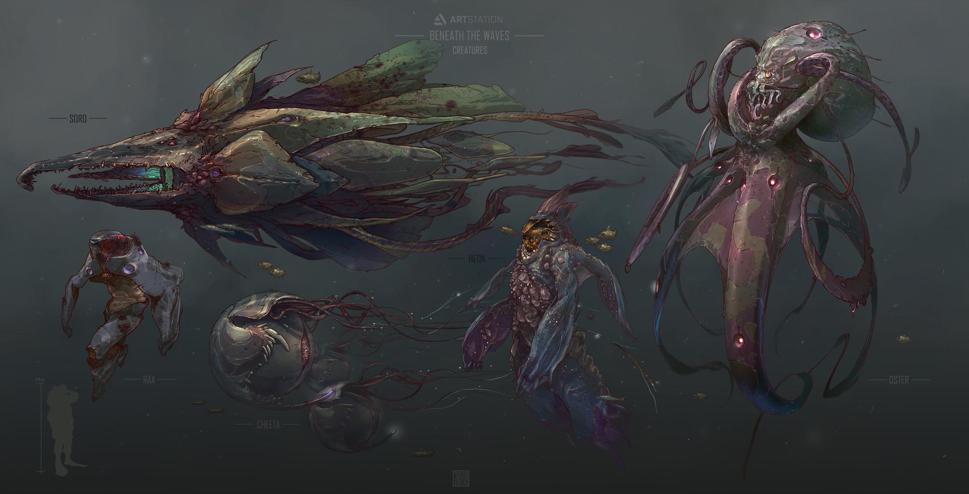 Tano bonfanti line up creatures final
