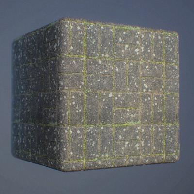 Shariq altaf darkbrick cuberender 02