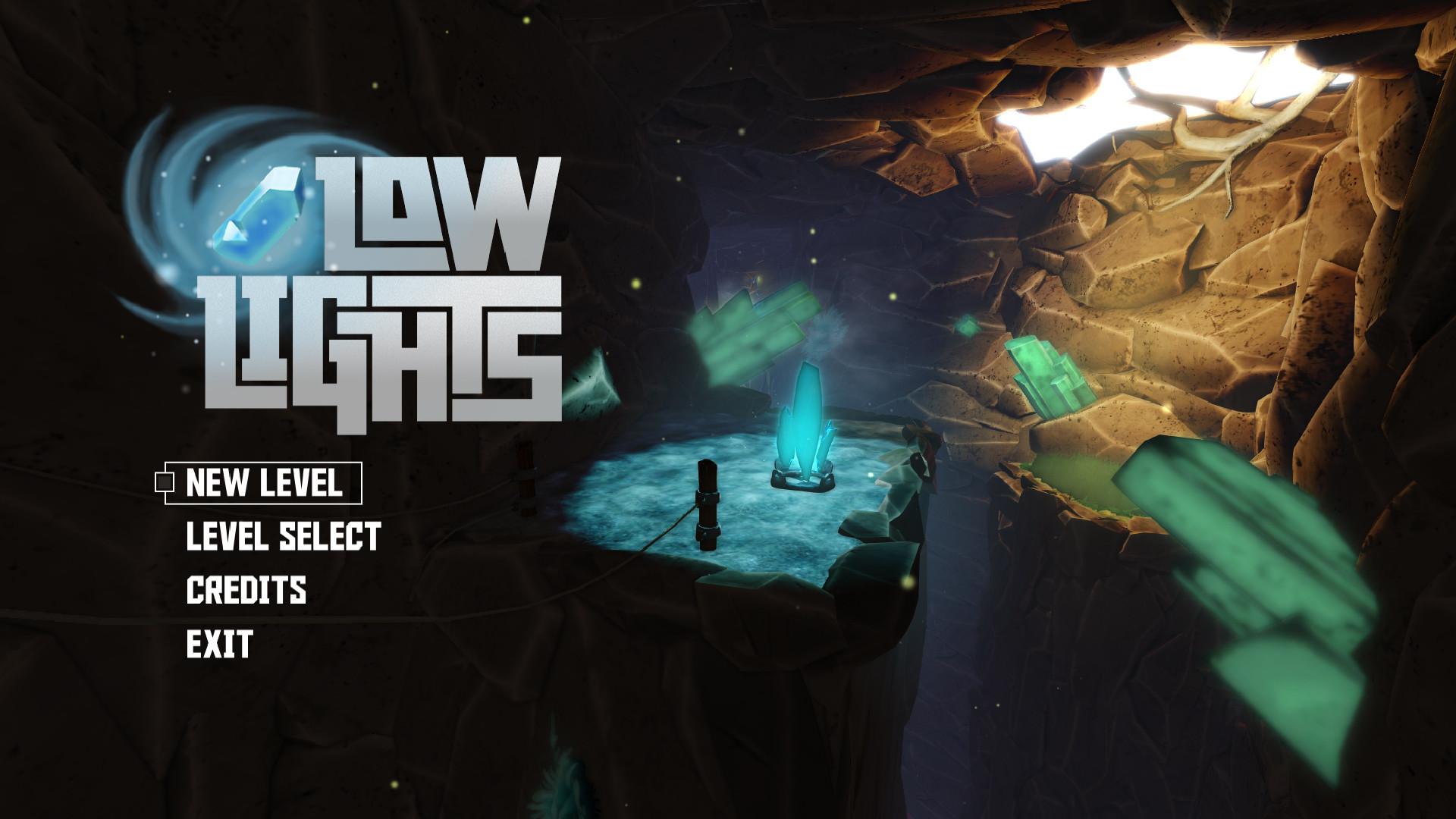 ArtStation GUI And Logo Design For Low Lights Francesc Vela - Game menu design