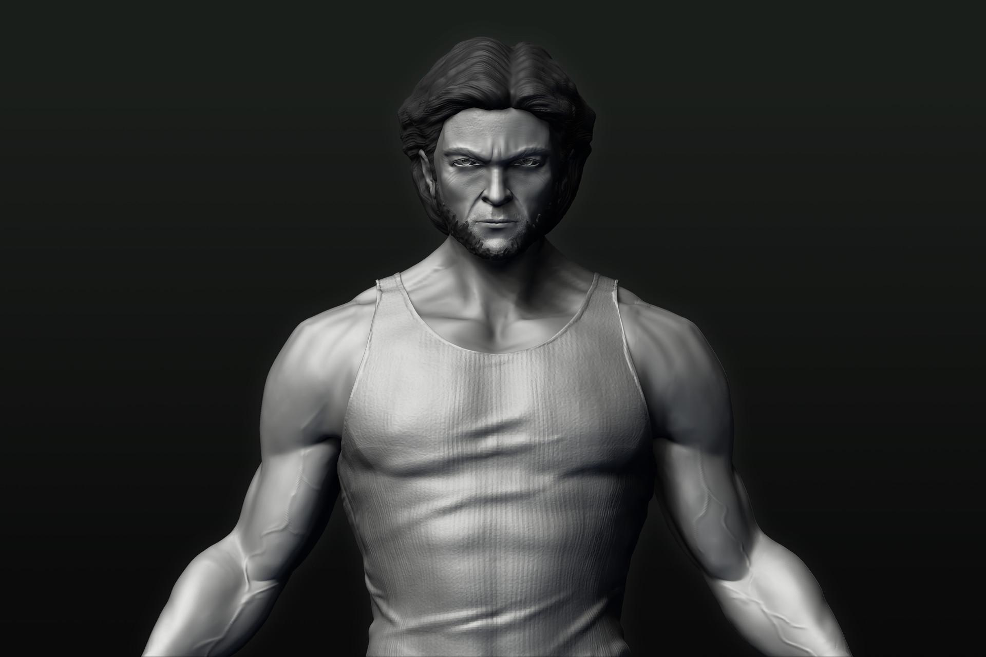 e306d06181 峻豪張- Wolverine - Hugh Jackman