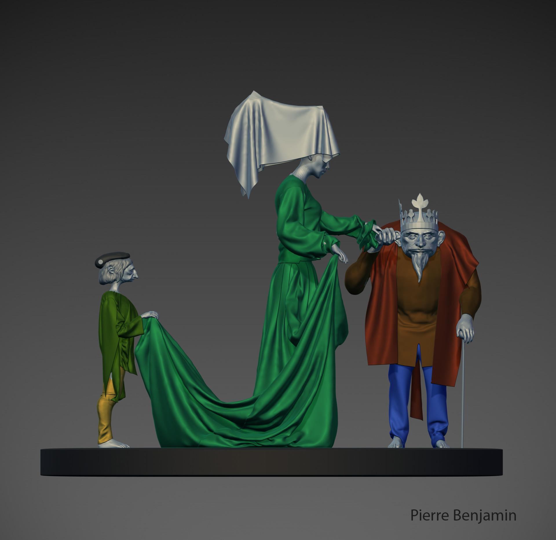 Pierre benjamin wedding scene trio 14