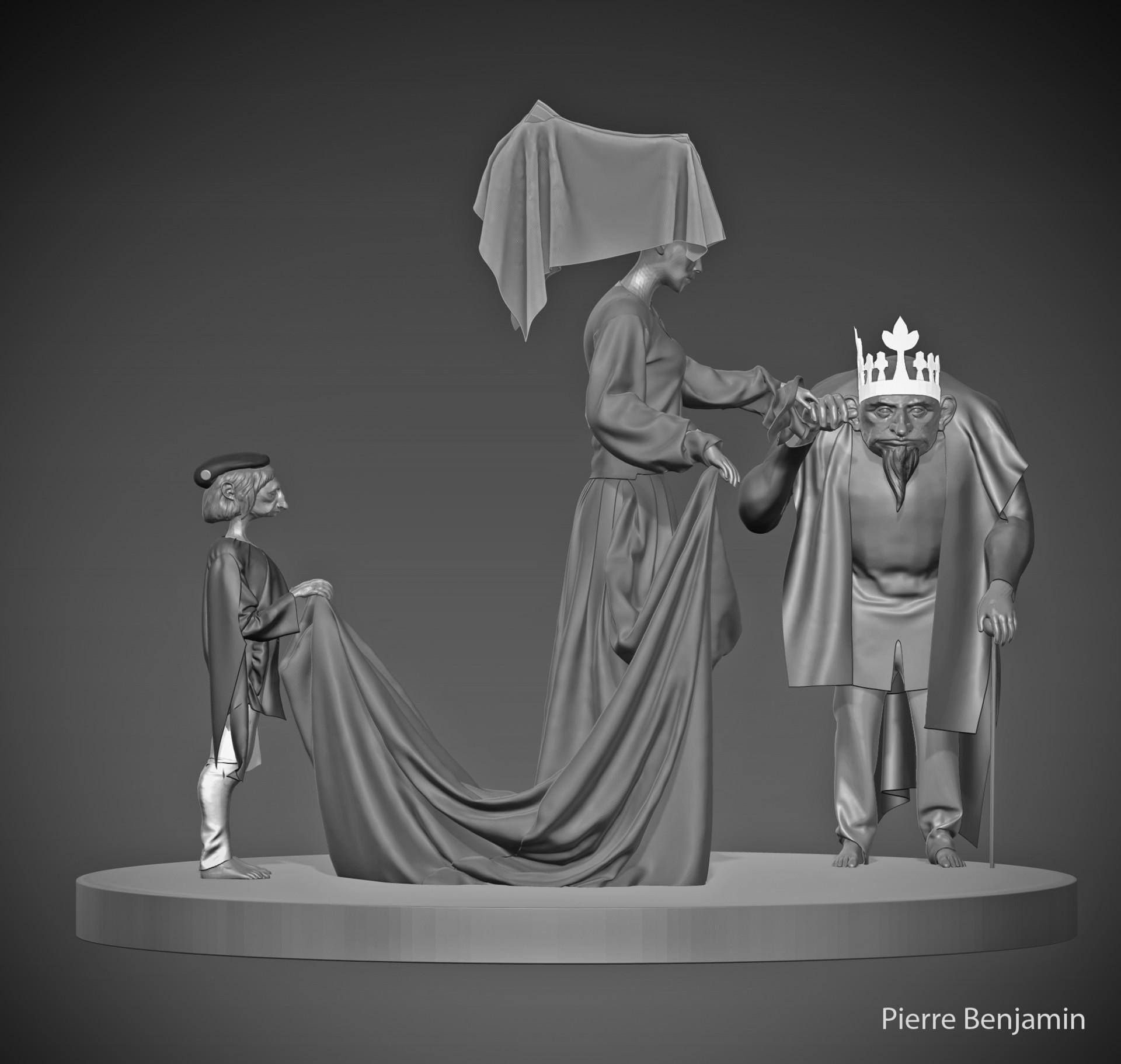 Pierre benjamin wedding scene trio 2