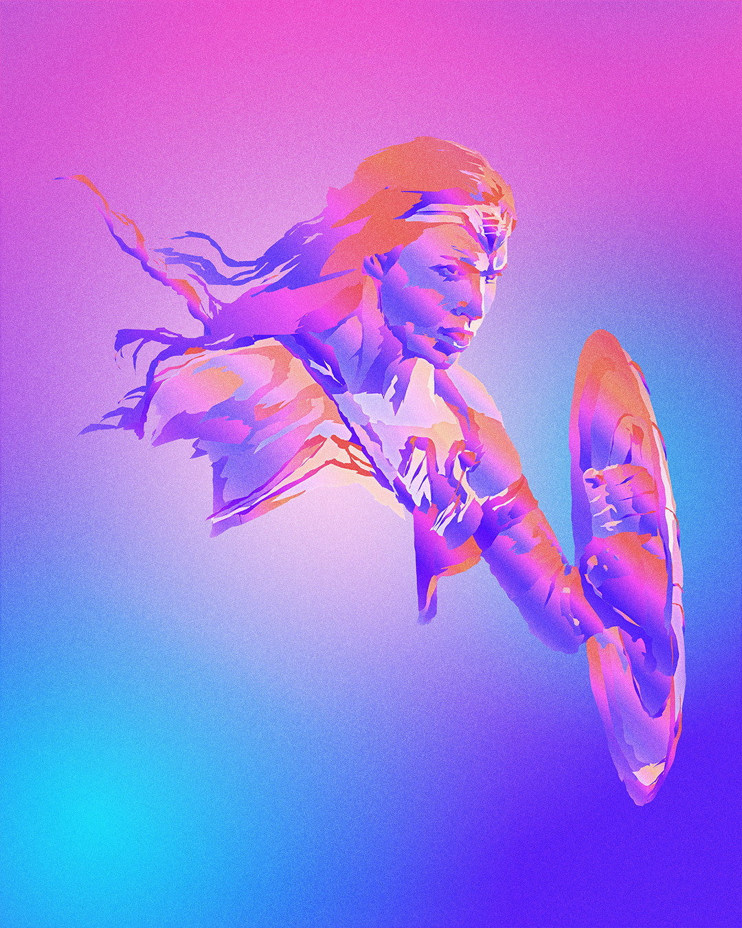 Nick tam full masaolab justiceleague colorillustration wonderwoman v1
