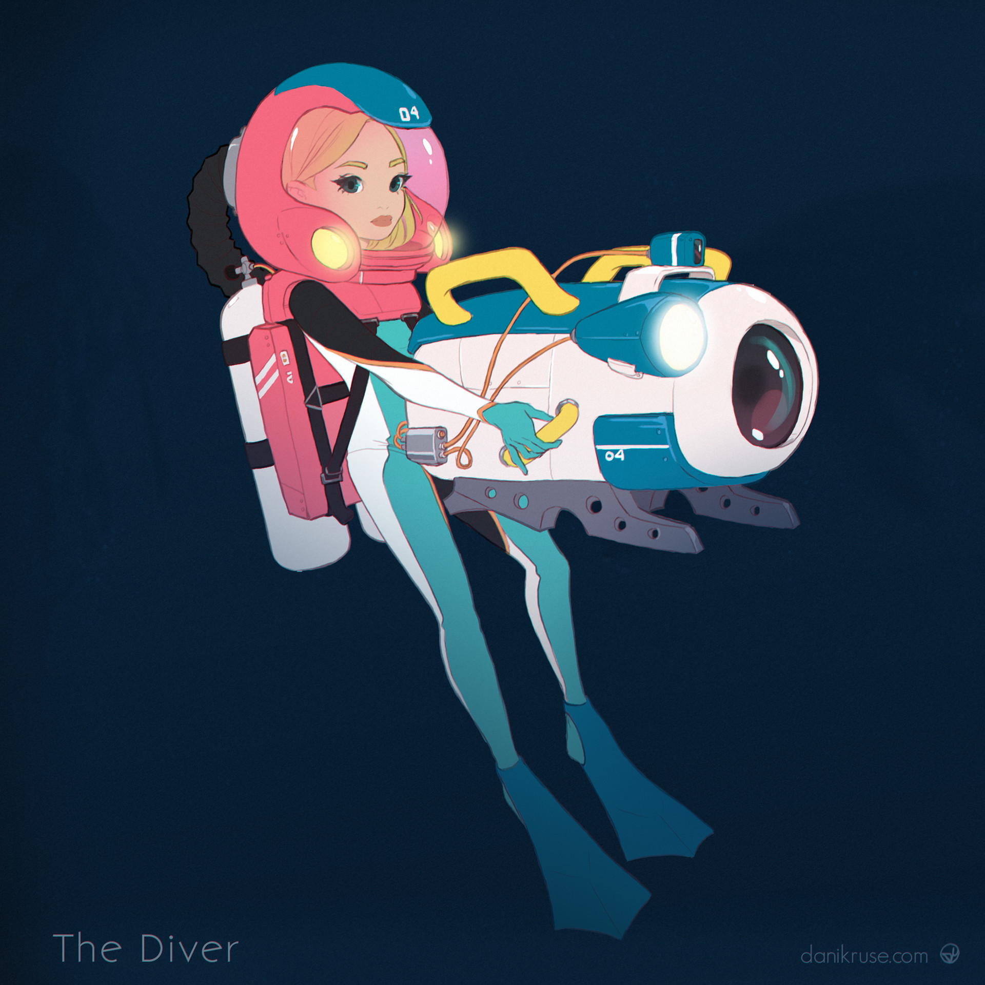 Dani kruse btw the diver