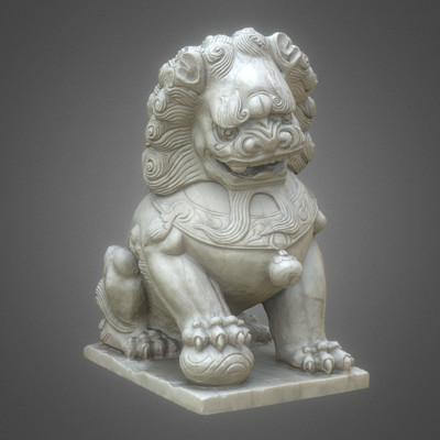 Vlx kuzmin chinese guardian lion foo dog
