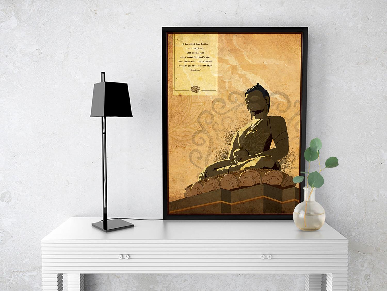 Rajesh r sawant buddha frame