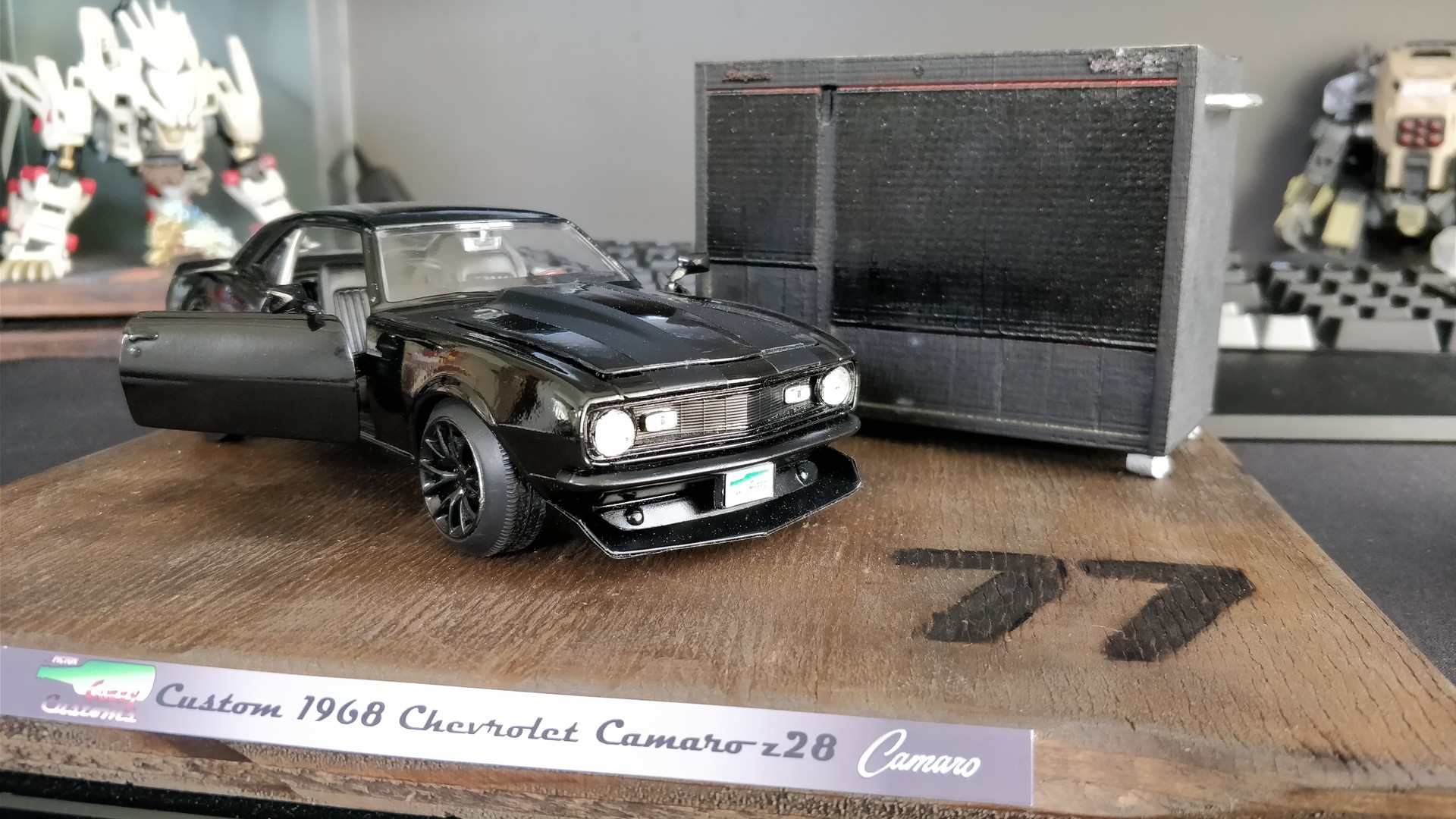 Artstation Custom 1968 Chevrolet Camaro Z28 Model Siddharth Mistry Z 28 Final Set