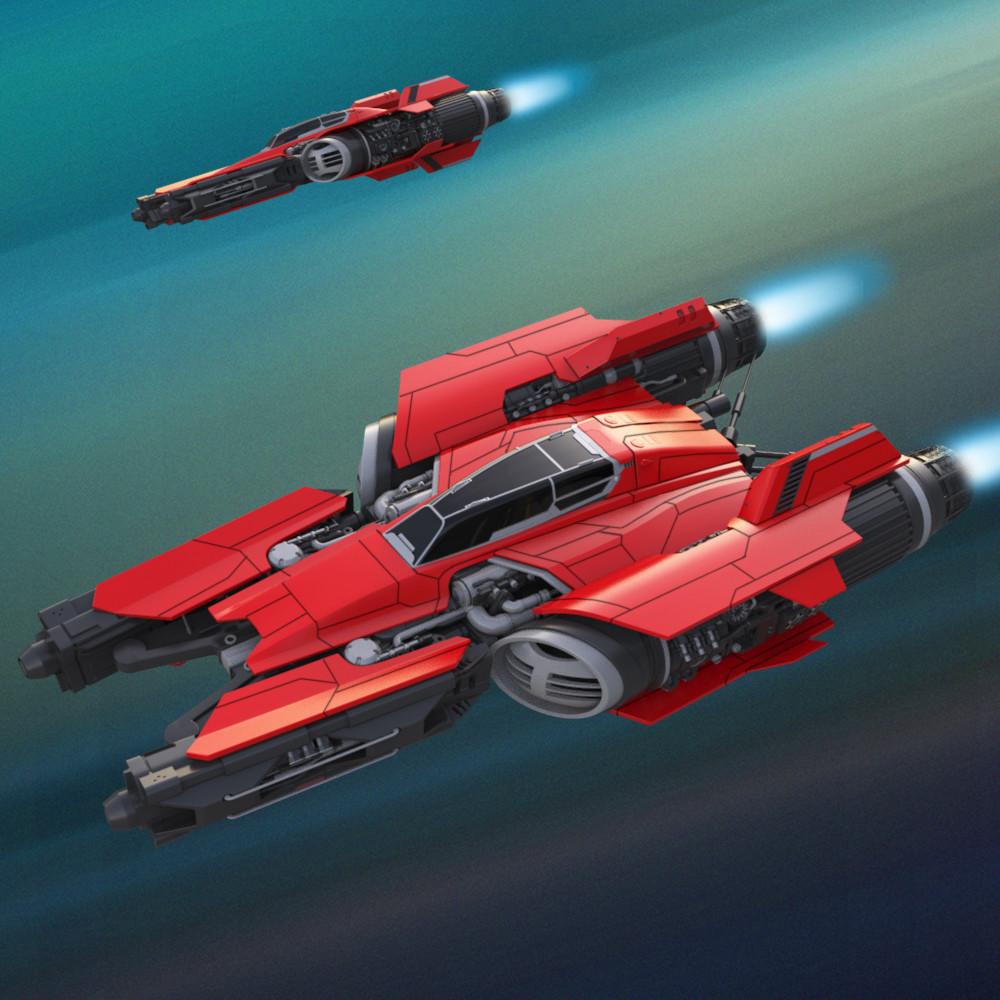 Andrew hodgson spaceship010