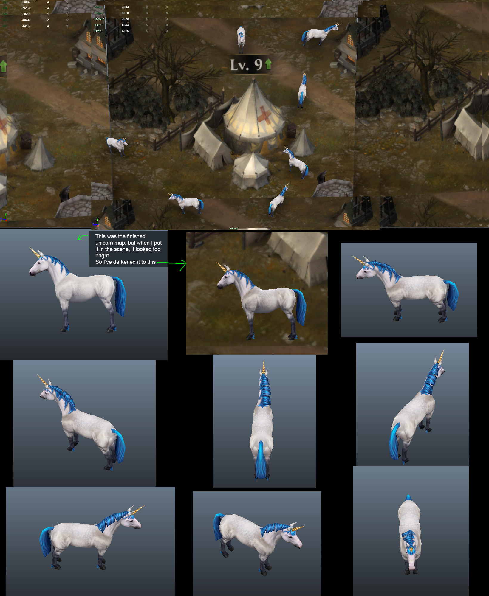 Soo ling lyle tassell unicorn