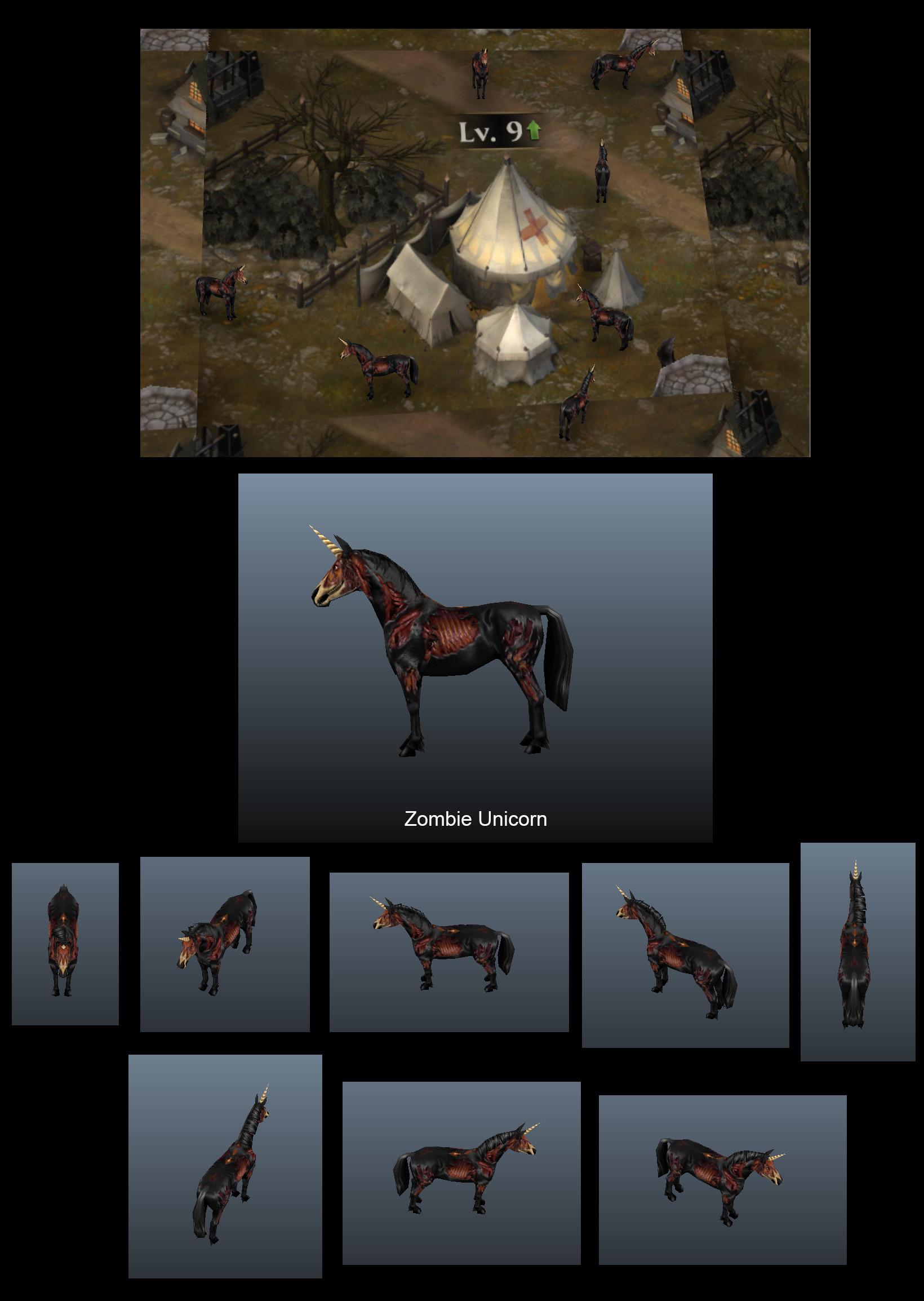 Soo ling lyle tassell zombie unicorn