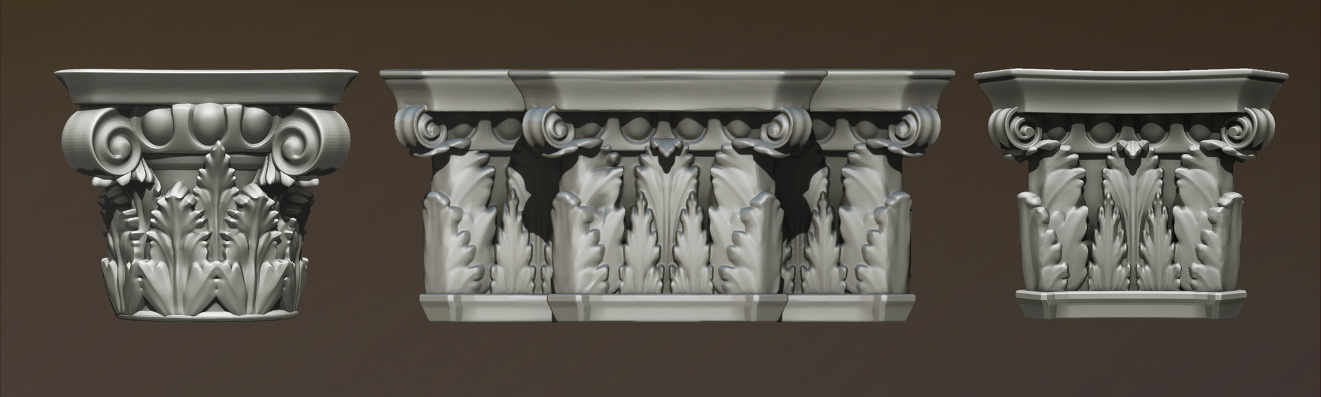 Matthias patscheider highpoly columns 02