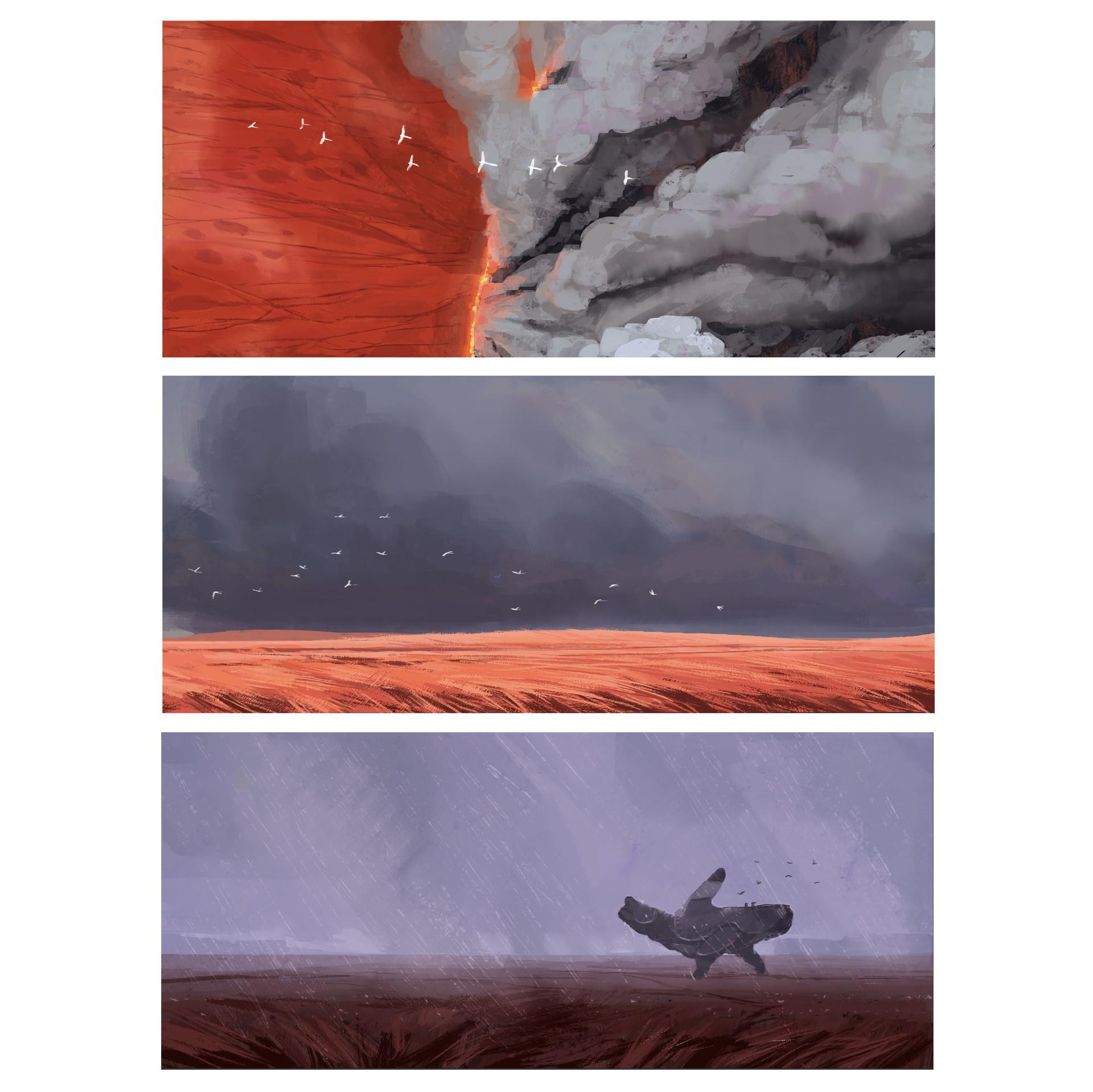 [Reflexion] Les oeuvres qui vous inspirent Alexander-ostrowski-05-grassland-colorroughs-insta3