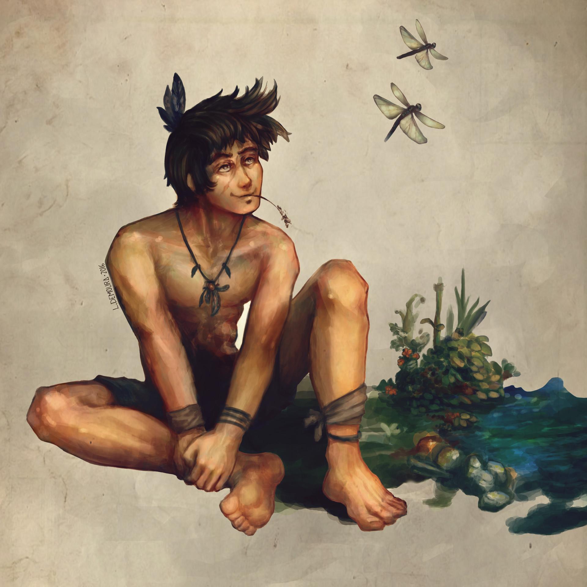Leo de moura rio sentado x