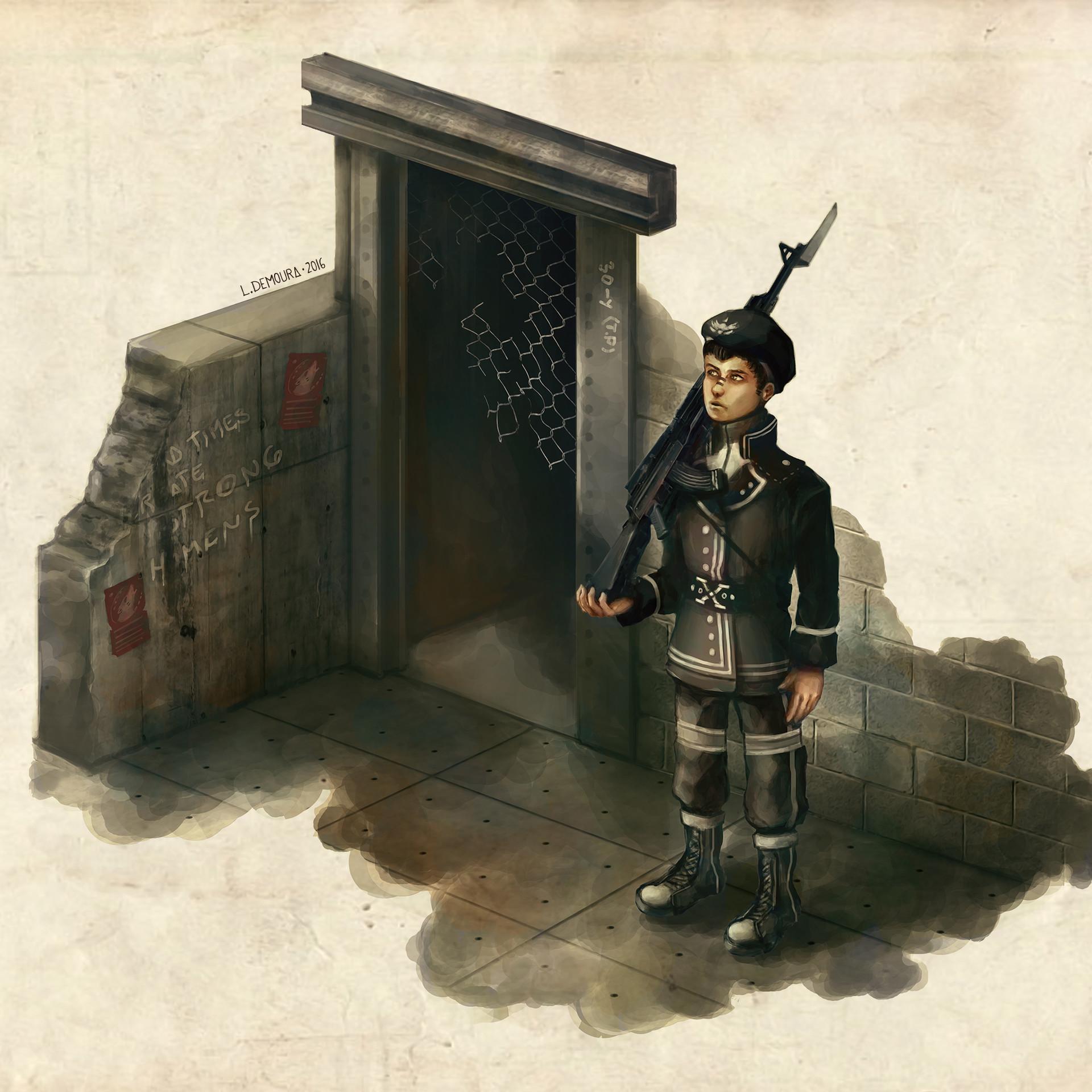 Leo de moura soldier x