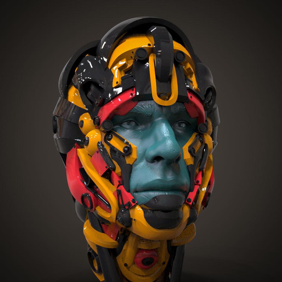 Helmet sketch 1