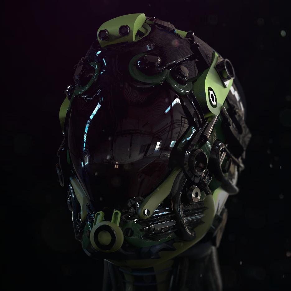 Helmet sketch 2