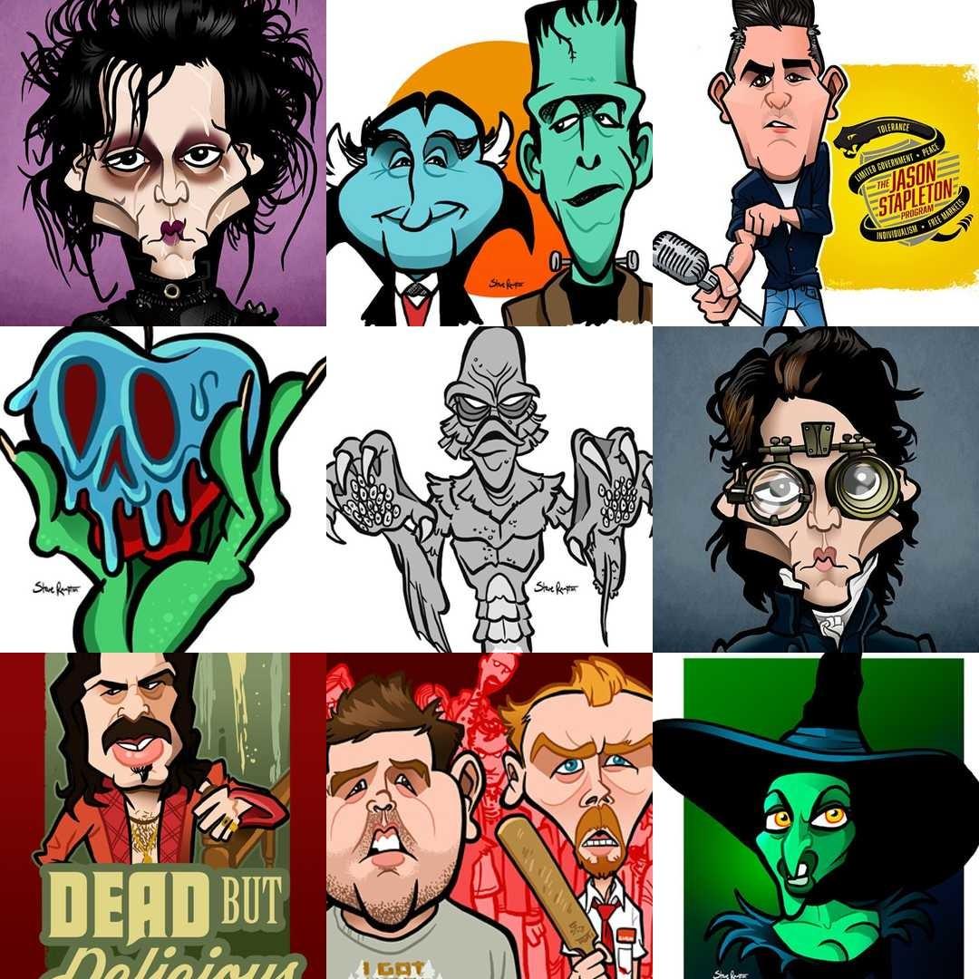 Steve rampton caricaturesbysteve