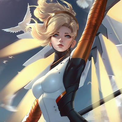 Sean tay mercy by raikoart dbrm54b