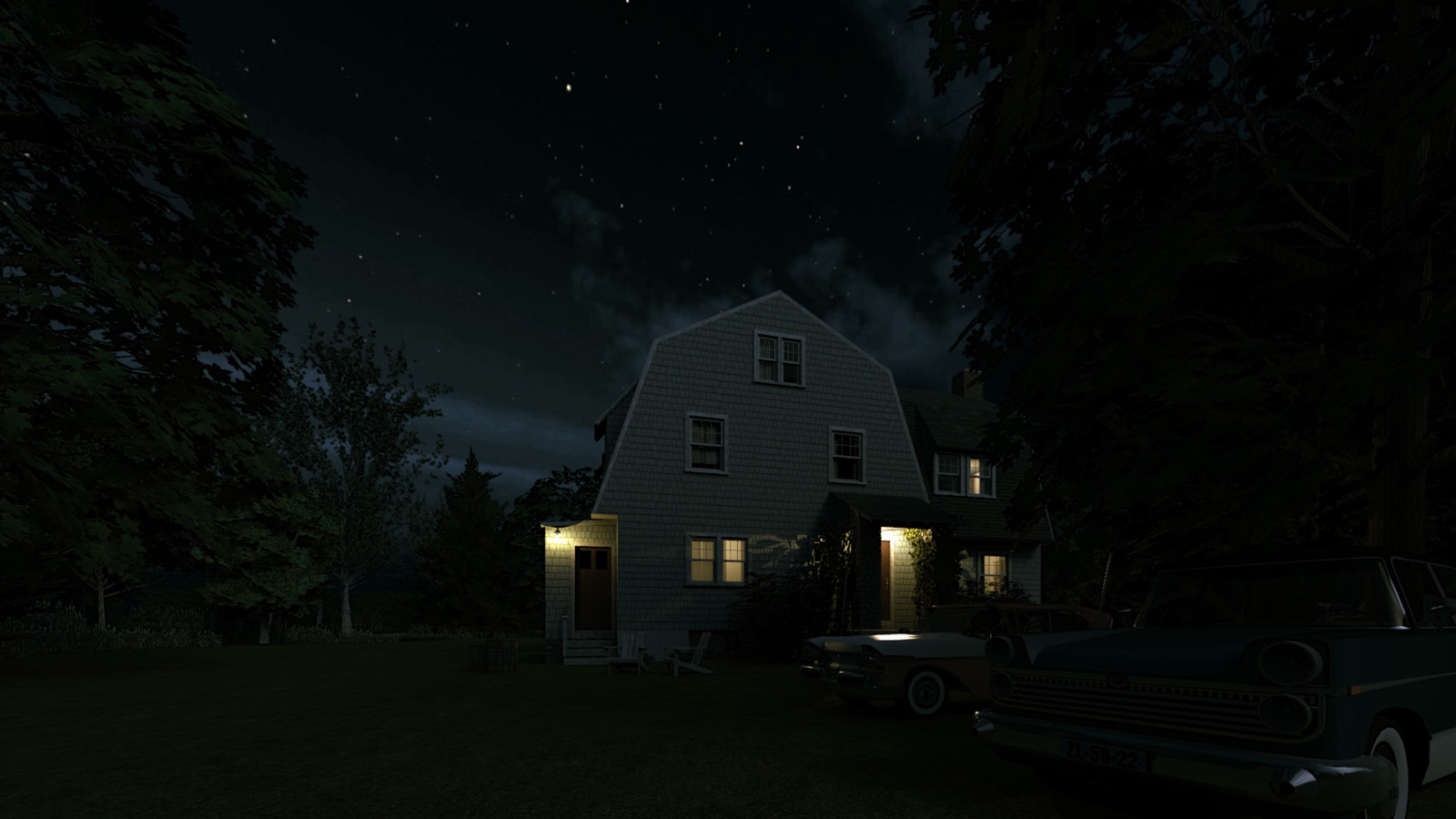 """""""Mason Farm - Come Raggio di Luna"""" Full Moon Collection  33 Masonfarm HD1080 25 - iP Kodac  """"SketchUp to LayOut"""" The Mason Farm Renders for the launching of the new book """"SketchUp to LayOut"""" http://bit.ly/2j0d0Wh by MasterSketchup."""