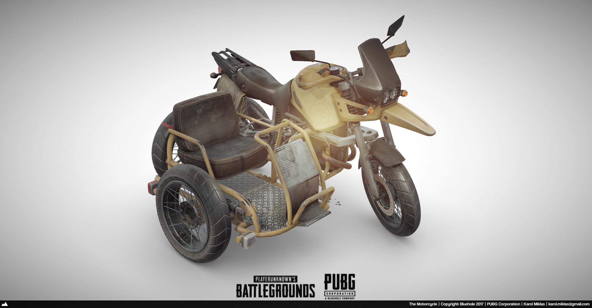 Pubg Buggy Wallpaper: Playerunknown's Battlegrounds: Motorcycle