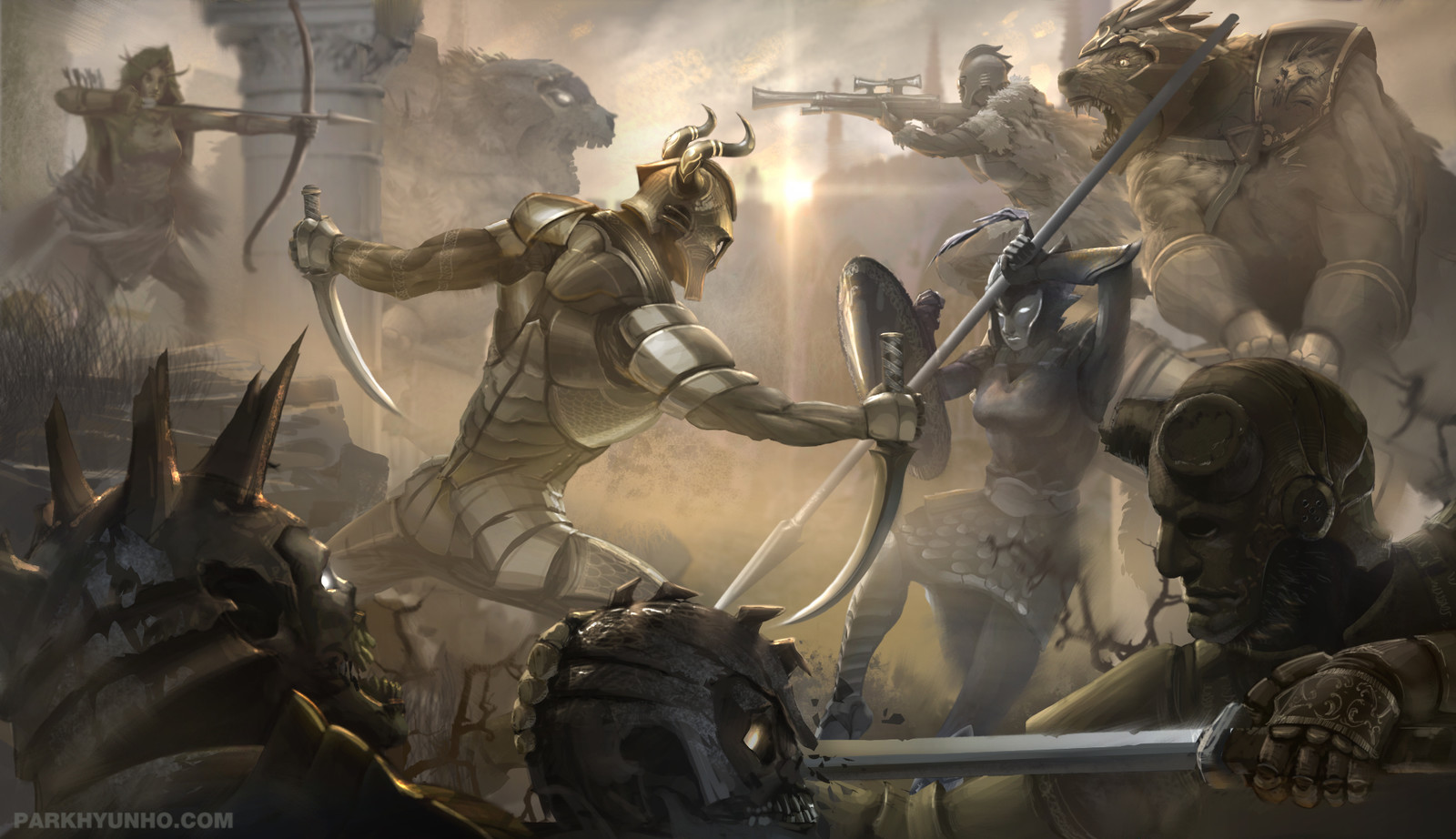 Battle of sunset