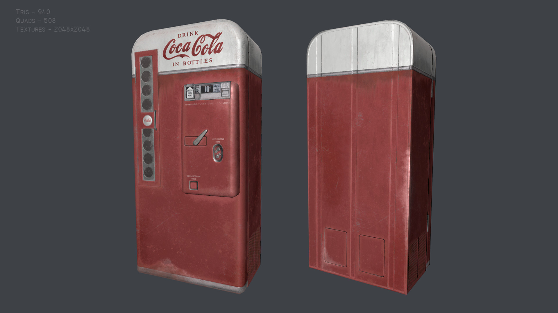 ArtStation - Vending machine, Cintia Fernández Patallo