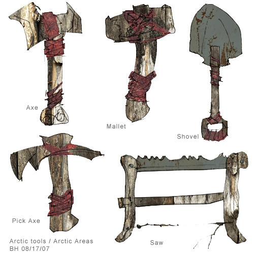 Ben harrison arctic tools