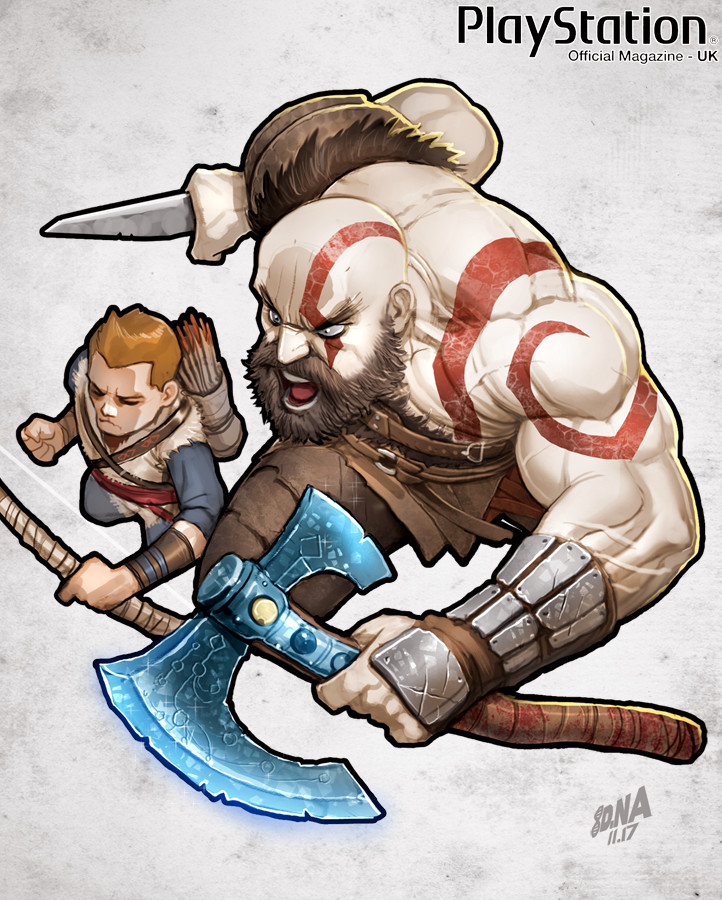 God of War detail