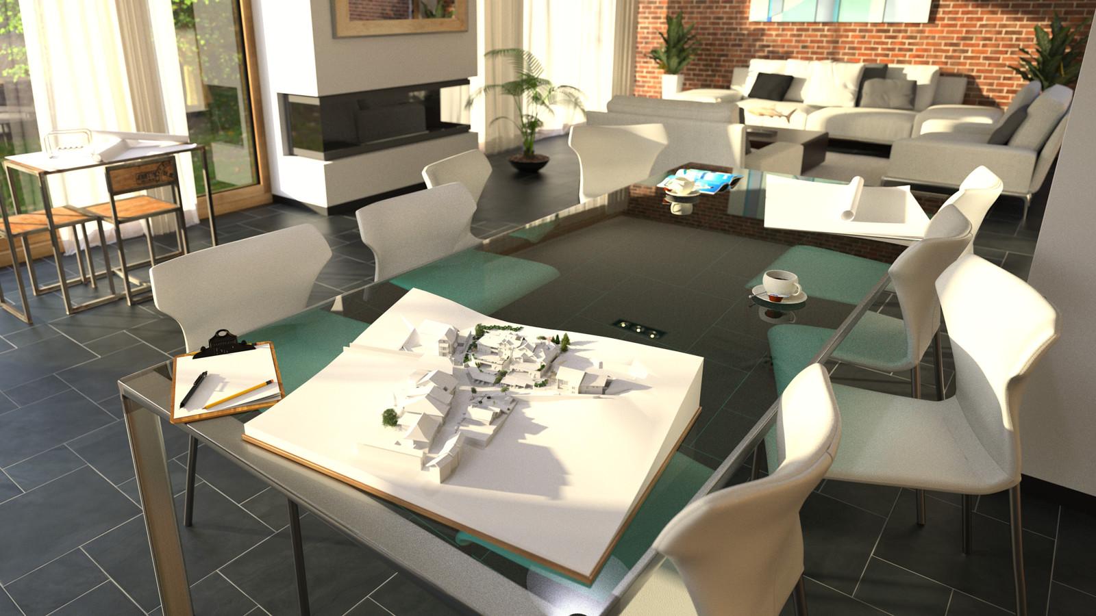 14 Scene New Thea 02   Read more: http://www.kemppro.com/KP_3D_communication-table_architect.htmlDOFC