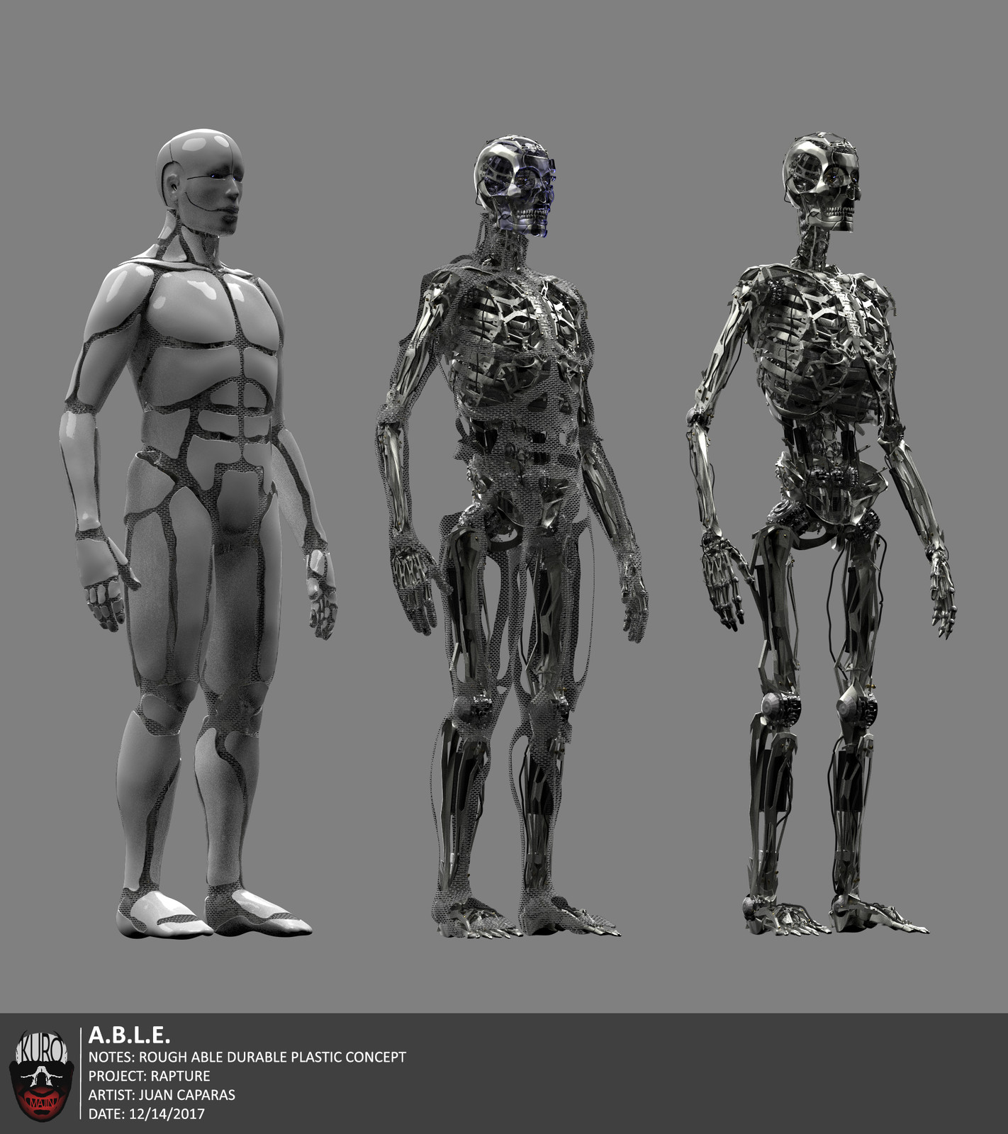 A.B.E.L. Concept Art | Kuro Majin Productions