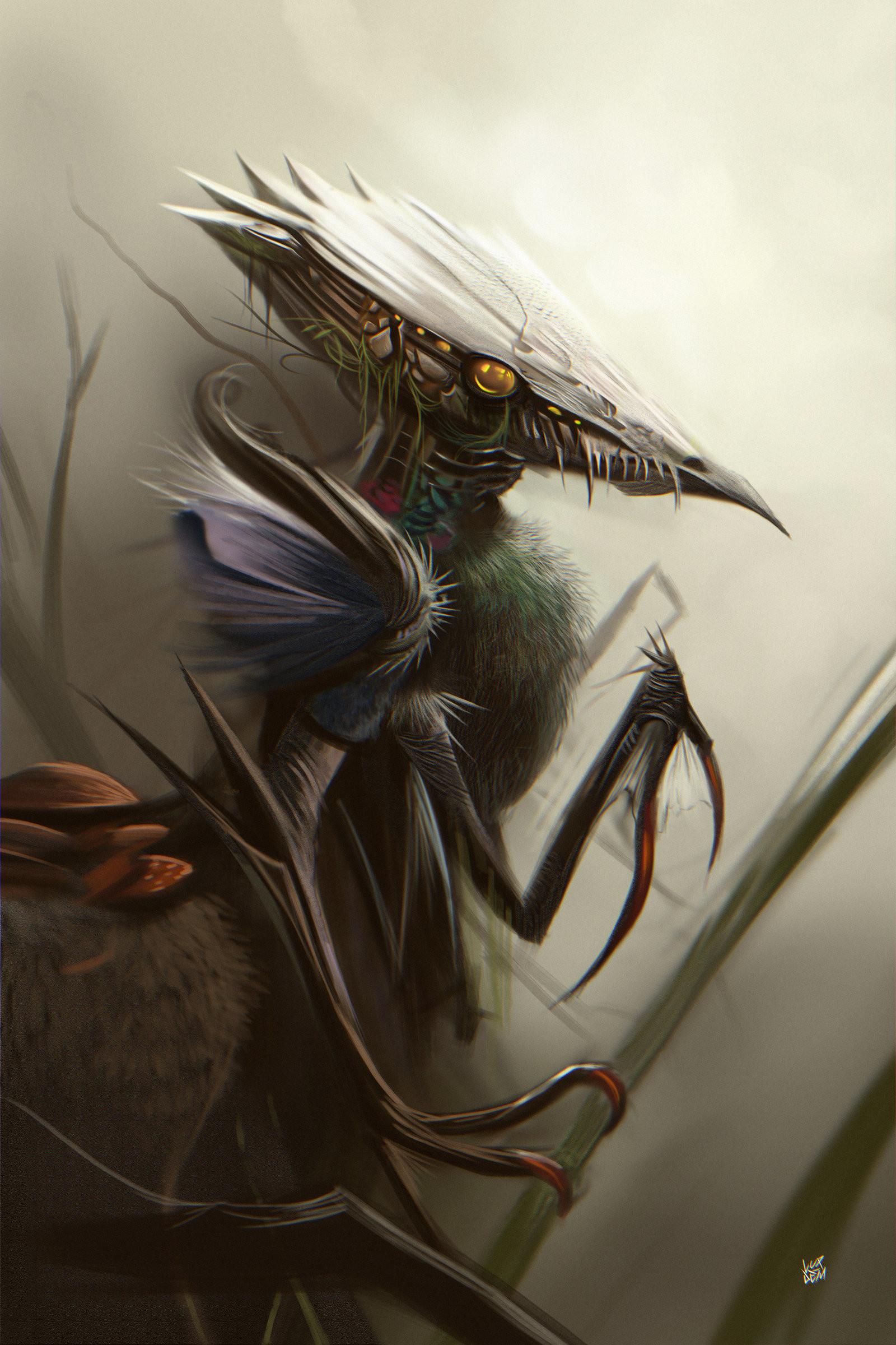 Yasar vurdem creature sketch by vurdem dbwslpy