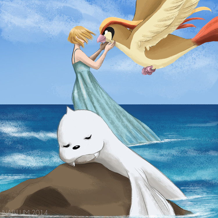 Seventeenth Day - Dewlah and Kaden (Dewgong and Pidgeot)